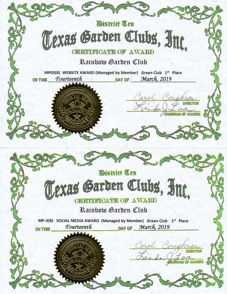 Texas Garden Club Awards for 2018 - RGC revised_0002